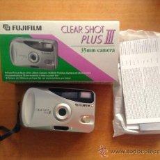 Cámara de fotos: CAMARA DE FOTOS - FUJIFILM - CLEAR SHOT PLUS III - NUEVA SIN USAR - PB4. Lote 37919639