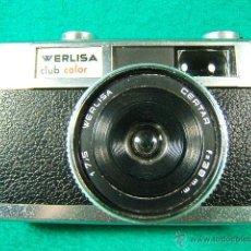 Cámara de fotos: WERLISA CLUB COLOR-MADE IN SPAIN-1:7,5-CERTAR F=38MM-CONTACTO FLASH-ROSCA TRIPODE-CAMARA FOTOGRAFICA. Lote 40816218