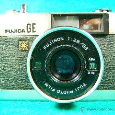Cámara de fotos: FUJICA GE-FUJI PHOTO FILM JAPAN-OBJETIVO FUJINON 1:2,8/38-25 ASA A 800-DIAFR:2 A 22-FOTOMETRO-CAMARA. Lote 40855720