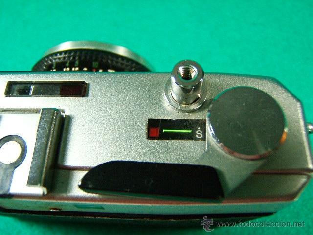 Cámara de fotos: FUJICA GE-FUJI PHOTO FILM JAPAN-OBJETIVO FUJINON 1:2,8/38-25 ASA A 800-DIAFR:2 A 22-FOTOMETRO-CAMARA - Foto 3 - 40855720