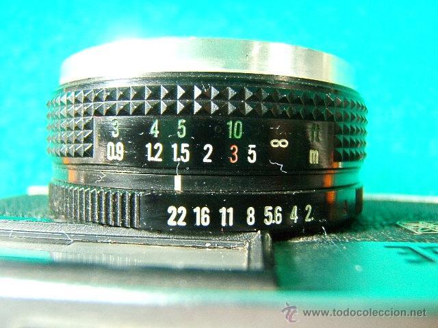 Cámara de fotos: FUJICA GE-FUJI PHOTO FILM JAPAN-OBJETIVO FUJINON 1:2,8/38-25 ASA A 800-DIAFR:2 A 22-FOTOMETRO-CAMARA - Foto 4 - 40855720