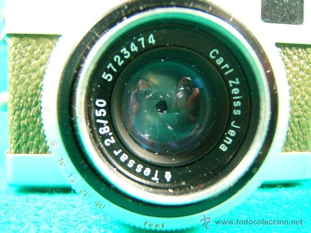 Cámara de fotos: WERRA 283372-OBJETIVO CARL ZEISS JENA-TESSAR 2,8/50 A 22-ASA 6 A 800-VELOCIDAD 60 A 500-TELEMETRO... - Foto 2 - 40861458