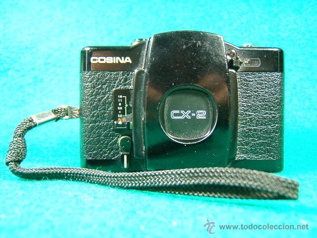 COSINA CX 2-OBJ:COSINON 1:2,8 35 MM-DIAFR.ASA 25-400-CAMARA MINIATURA CON MOTOR QUE COPIO LA LOMO... (Cámaras Fotográficas - Panorámicas y Compactas)
