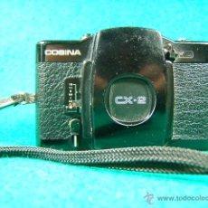 Cámara de fotos: COSINA CX 2-OBJ:COSINON 1:2,8 35 MM-DIAFR.ASA 25-400-CAMARA MINIATURA CON MOTOR QUE COPIO LA LOMO.... Lote 40940630