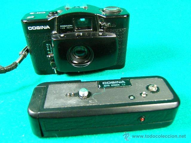 Cámara de fotos: COSINA CX 2-OBJ:COSINON 1:2,8 35 MM-DIAFR.ASA 25-400-CAMARA MINIATURA CON MOTOR QUE COPIO LA LOMO... - Foto 14 - 40940630
