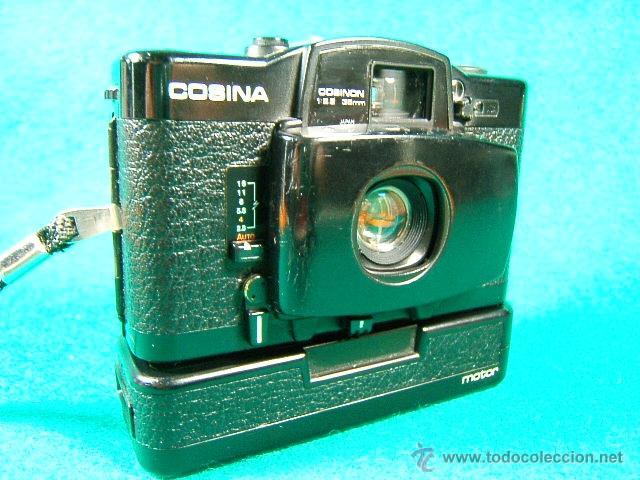 Cámara de fotos: COSINA CX 2-OBJ:COSINON 1:2,8 35 MM-DIAFR.ASA 25-400-CAMARA MINIATURA CON MOTOR QUE COPIO LA LOMO... - Foto 15 - 40940630
