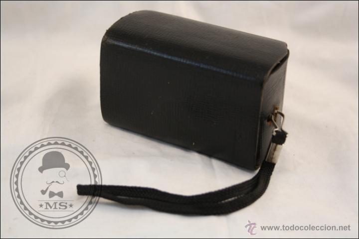 Cámara de fotos: Antigua Cámara Fotográfica Compacta - Instamatic 100. Kodak - 1963 - Fabricada en Inglaterra - Foto 10 - 42983234