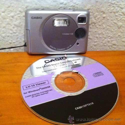 CAMARA DIGITAL CASIO LV50 VINTAGE (Cámaras Fotográficas - Panorámicas y Compactas)