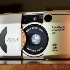 Cámara de fotos: NIKON LITE TOUCH ZOOM 70W NUEVA. Lote 45221359