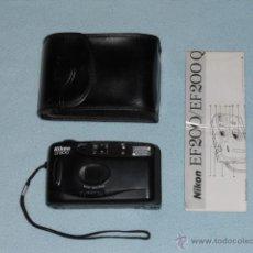Fotocamere: NIKON EF200 CAMARA FOTOGRAFICA CON FUNDA E INSTRUCCIONES AÑOS 90. Lote 45602198