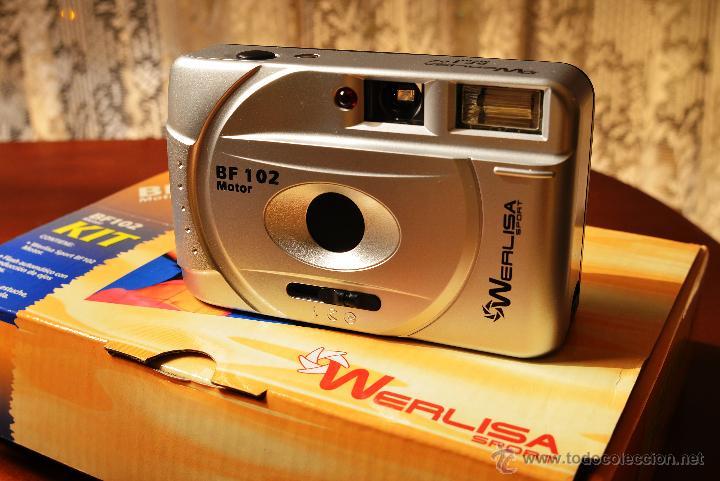 Cámara de fotos: PRECIOSA WERLISA BF 102 MOTOR, AÚN EN SU EMBALAJE ORIGINAL - Foto 2 - 48668545