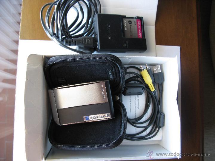Cámara de fotos: SONY. DSC-T5. 5.1 Mp. 3.0x Zoom. (para detalles ver fotografías) - Foto 2 - 48724179