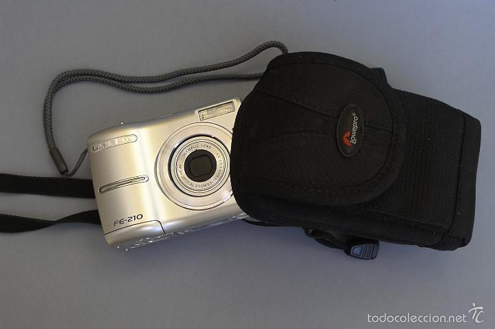 OLYMPUS FE-210 (Cámaras Fotográficas - Panorámicas y Compactas)