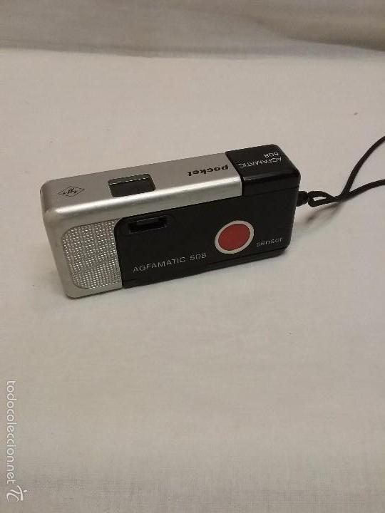 ANTIGUA CÁMARA DE FOTOS AGFAMATIC POCKET 508 (Cámaras Fotográficas - Panorámicas y Compactas)