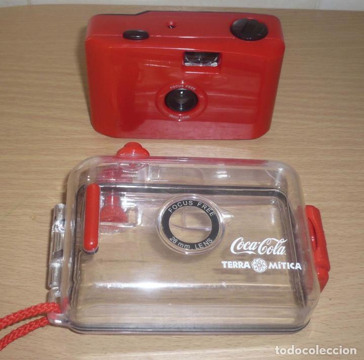 Cámara de fotos: Camara Resistente al Agua, publicidad Coca Cola - Terra Mitica - Foto 4 - 61634460