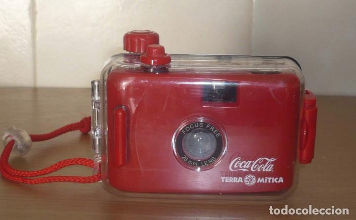 Cámara de fotos: Camara Resistente al Agua, publicidad Coca Cola - Terra Mitica - Foto 8 - 61634460