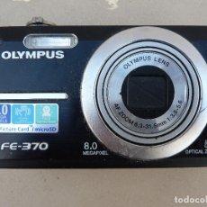 Cámara de fotos: CAMARA COMPACTA OLYMPUS FE-370. Lote 63004932