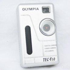 Cámara de fotos: MUY CURIOSA CÁMARA DIGITAL DE BOLSILLO - OLYMPIA TEC-V10 . Lote 71984075