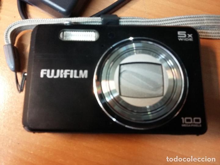 Cámara de fotos: camara fotos fujifilm 10 mps + cargador + funda piel (VER NOTAS) - Foto 2 - 72798331