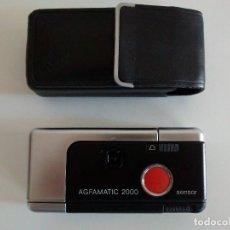 Cámara de fotos: CAMARA FOTOGRAFICA AGFAMATIC 2000. Lote 80226617