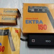 Cámara de fotos: CAMARA KODAK EXTRA 150 - EN SU CAJA - 2 CARRETES - PB25. Lote 82452950