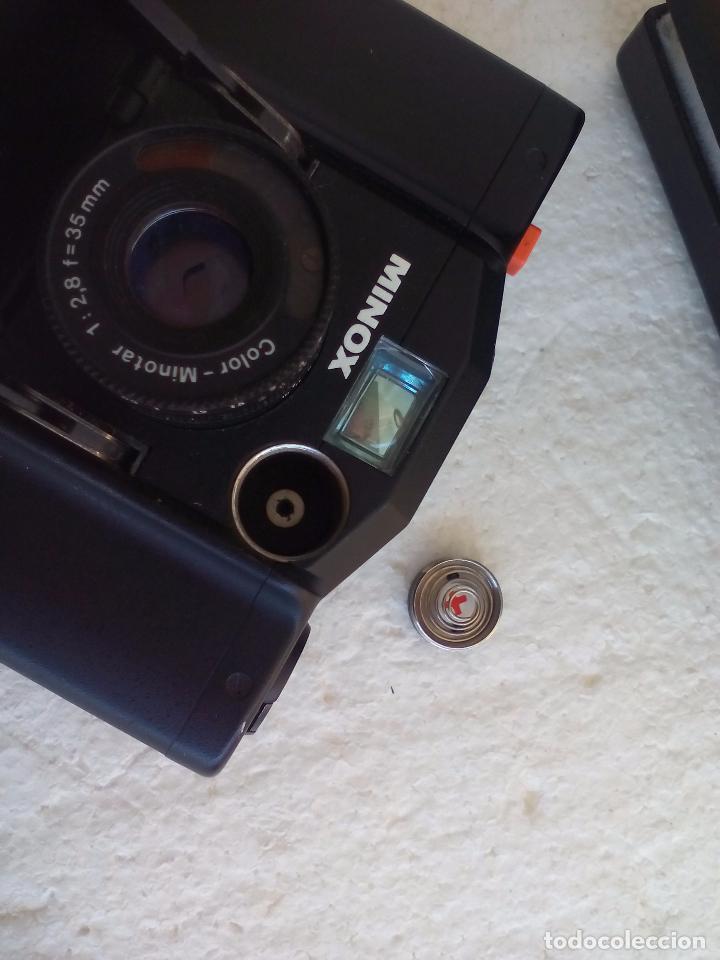 Cámara de fotos: Cámara fotográfica Minox 35 GL, 35GL, con estuche. MInotar 1:2,8 F=35 mm - Foto 13 - 82682208