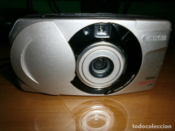 Cámara de fotos: CÁMARA FOTOGRÁFICA COMPACTA CANON PRIMA PLATINUM SUPER 28 N - FUNCIONANDO!!! - Foto 2 - 86407984