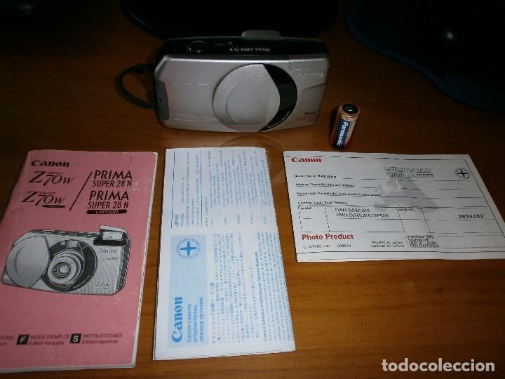 Cámara de fotos: CÁMARA FOTOGRÁFICA COMPACTA CANON PRIMA PLATINUM SUPER 28 N - FUNCIONANDO!!! - Foto 4 - 86407984