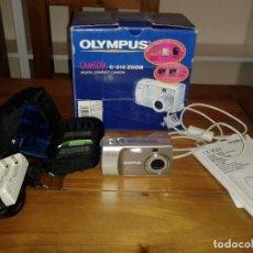 Cámara de fotos: CÁMARA DIGITAL COMPACTA OLYMPUS C-310 ZOOM. CAJA, CARGADOR, CABLE USB, INSTRUCCIONES. Lote 86977144