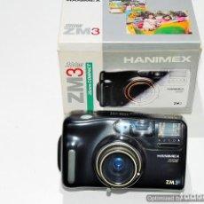 Cámara de fotos: CAMARA COMPACTA HANIMEX ZM-3 CON CAJA. Lote 91447245