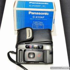 Cámara de fotos: CAMARA COMPACTA PANASONIC C410AF CON FUNDA Y CAJA. Lote 91448085