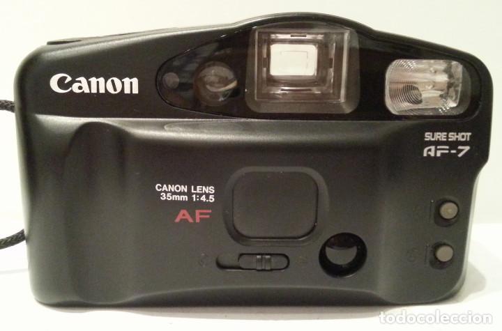 Cámara de fotos: CÁMARA FOTOGRÁFICA CANON AF-7 SURE SHOT. EXCELENTE ESTADO, CON FUNDA. CARRETE DE 35MM TRADICIONAL. - Foto 3 - 91642875