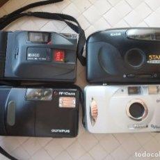 Cámara de fotos: LOTE DE 4 CÁMARAS COMPACTAS. Lote 96865987