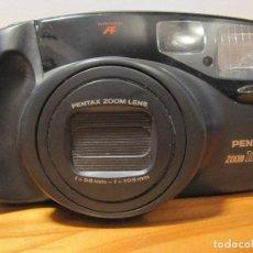 Cámara de fotos: PENTAX CAMARA FOTOGRAFICA PANORAMICA ZOOM 105 R MADE IN JAPAN. Lote 101755239