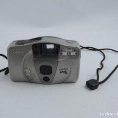 Cámara de fotos: CAMARA FOTOGRAFICA CANON SURE SHOT, OWL PF, CANON LENS 35 MM 1:3.8, FUNCIONA CORRECTAMENTE.. Lote 102777047
