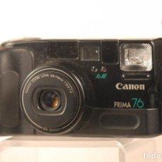 Cámara de fotos: CAMARA CANON PRIMA 76 FUNDA CANON. Lote 110737075