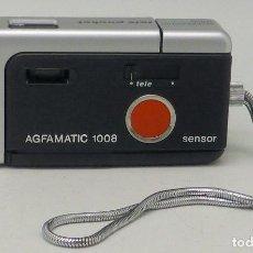 Cámara de fotos: CÁMARA FOTOS COMPACTA AGFAMATIC 1008 SENSOR CON FUNDA AÑOS 80. Lote 112893995