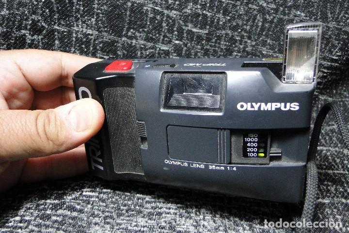 Cámara de fotos: OLYMPUS. TRIP MD. LENTES 35 MM 1:4. - Foto 5 - 260875125
