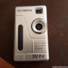 Cámara de fotos: CÁMARA OLYMPIA TEC-V10. CÁMARA DE FOTOS, DE VIDEO Y DE PC. MUY CURIOSA. Lote 115353256