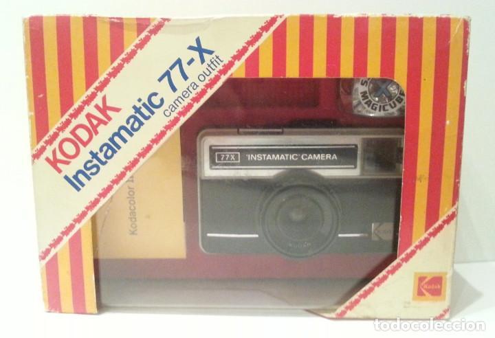 KODAK INSTAMATIC 77-X 77X MADE IN ENGLAND (Cámaras Fotográficas - Panorámicas y Compactas)