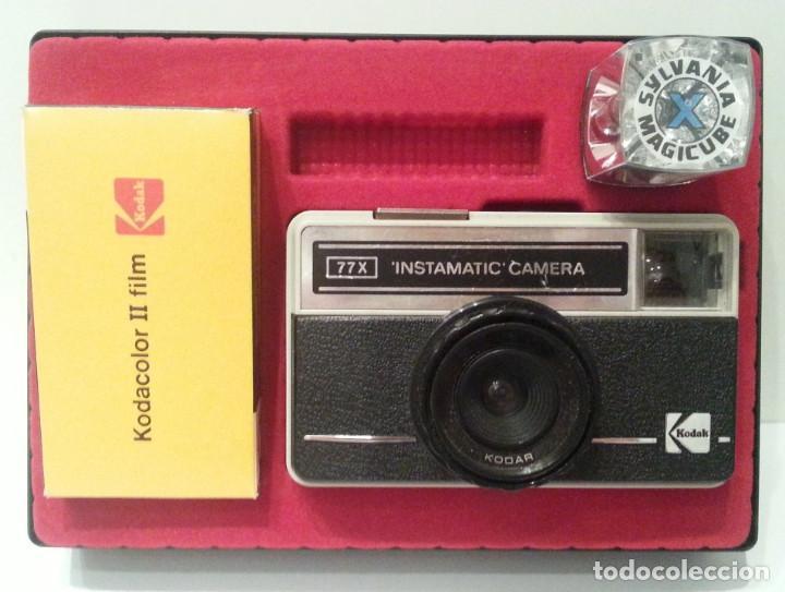 Cámara de fotos: KODAK INSTAMATIC 77-X 77X MADE IN ENGLAND - Foto 8 - 116734775