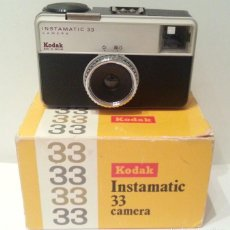 Appareil photos: KODAK INSTAMATIC 33 MADE IN ENGLAND. Lote 116734823