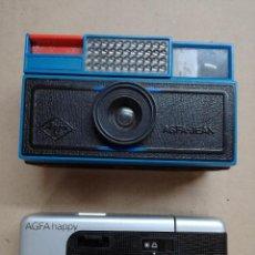 Cámara de fotos: DOS CAMARA DE FOTOS AGFA.AGFA-JEAN AGFA HAPPY. Lote 116940303