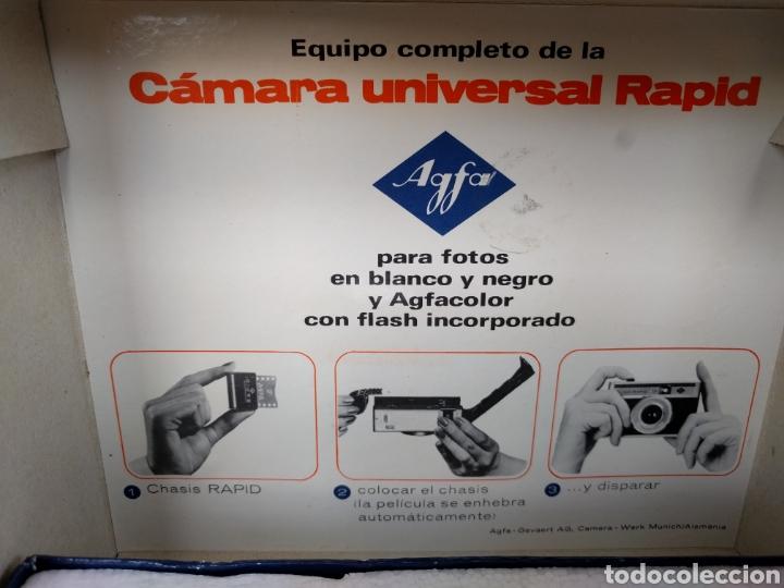 Cámara de fotos: CAMARA UNIVERSAL RAPID AGFA - EN SU CAJA ORIGINAL - Foto 4 - 121358636