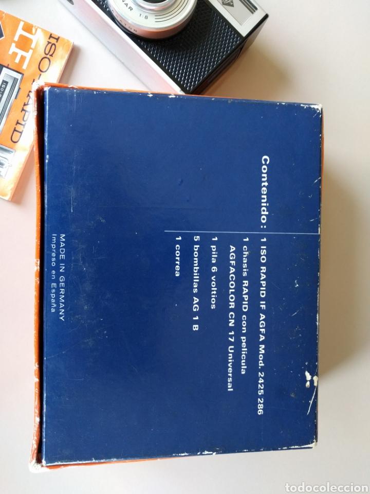 Cámara de fotos: CAMARA UNIVERSAL RAPID AGFA - EN SU CAJA ORIGINAL - Foto 5 - 121358636