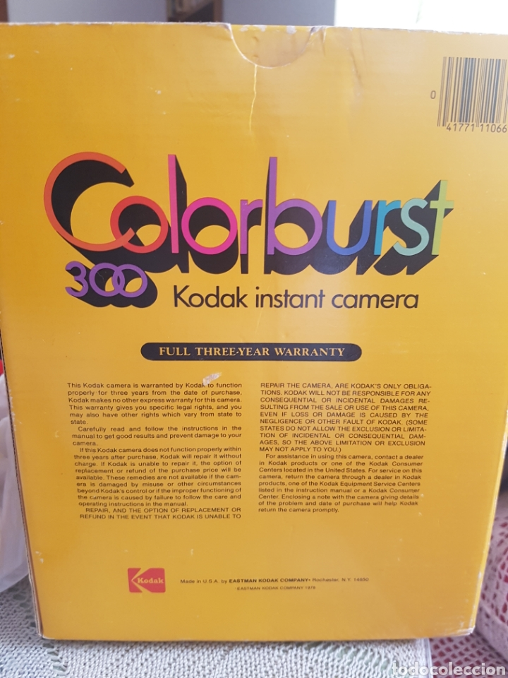 Cámara de fotos: Cámara Instantánea Kodak Colorburst 300 - Foto 3 - 127973835