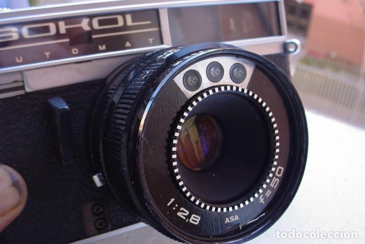 Cámara de fotos: Camara rusa Sokol automat - Foto 9 - 135592294