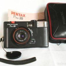 Cámara de fotos: CÁMARA PENTAX PINO 35 (CON FLASH) + FUNDA ORIGINAL + MANUAL - LOMOGRAPHY. Lote 139753942