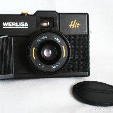 Cámara de fotos: CÁMARA WERLISA HIT (GLASS LENS 38 MM, 1:4) LOMOGRAPHY LOMO 35MM LOMOGRAFÍA. Lote 139804990