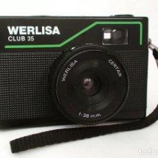 Cámara de fotos: CÁMARA WERLISA CLUB 35 (CERTAR 38 MM) - LOMOGRAPHY LOMO HIPSTER . Lote 139809282